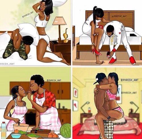 Bedroom Relationship Goals