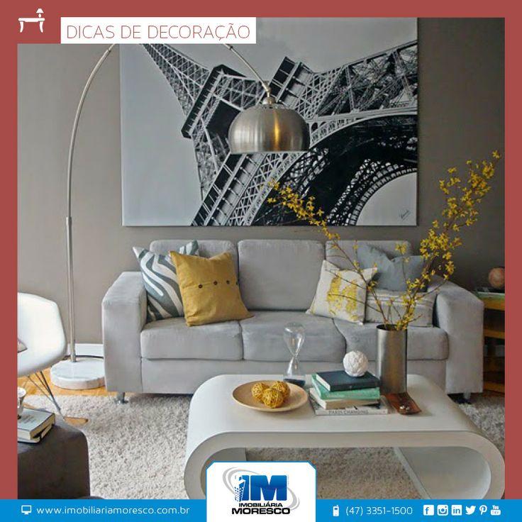 A decoração também sofre tendência a cada ano, são as tendências que orientam para as cores, as linhas e o estilo que vai estar mais em alta.
