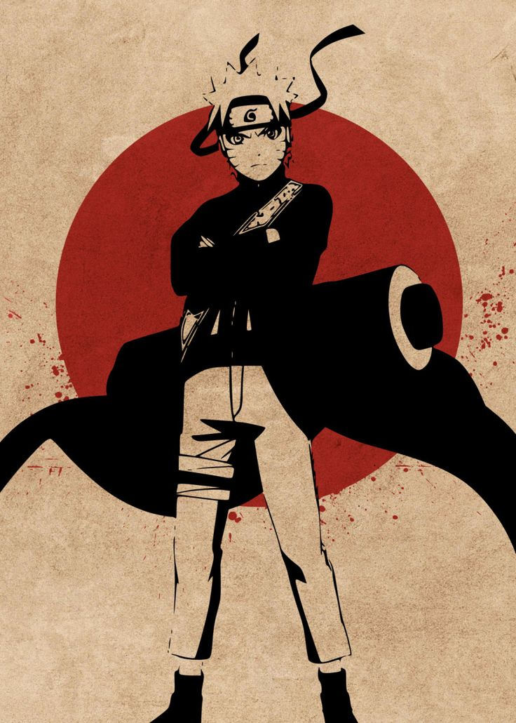 'Naruto Shippuden' Poster Print by Everything Anime
