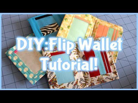 DIY:Duct Tape Flip Wallet Tutorial! - YouTube