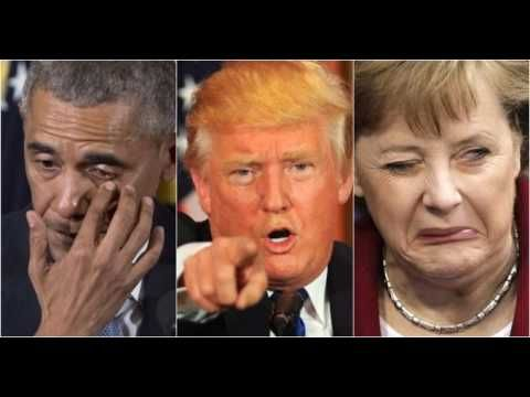 Trump Spits In Merkel & Obama's Faces, Says 'Hell No' To 1 Thing They Ve...