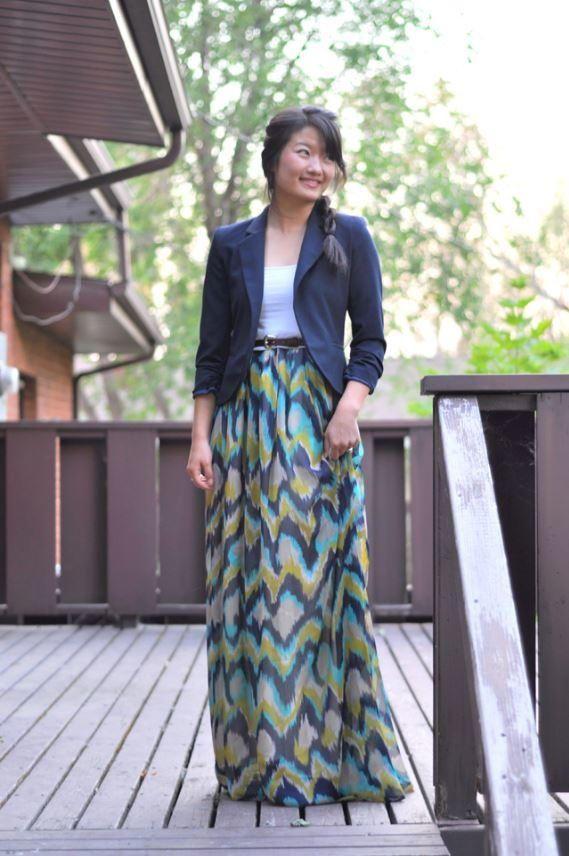 1 Hour Maxi Dress Tutorial | AllFreeSewing.com