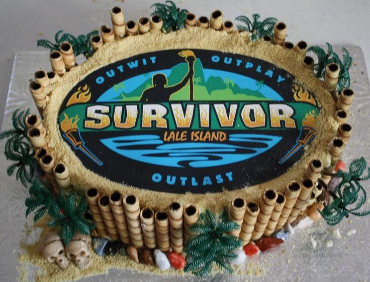 My Son's Survivor birthday cake
