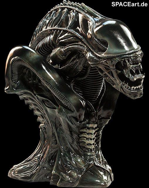 Alien 2: Alien Warrior - Legendary Scale Büste, Fertig-Modell / Büste ... http://spaceart.de/produkte/al002.php