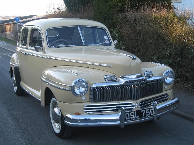 old mercury cars | Classic Cars For Sale | 1947 Ford Mercury Town Sedan