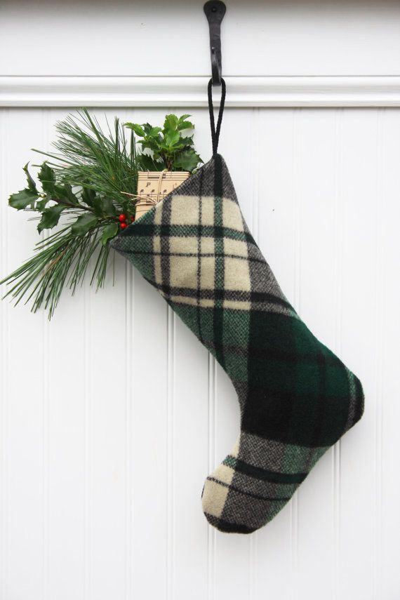 Hang this cozy stocking on your chimney with care! Its perfect for any true Christmas lover who wants a traditional feel for the Holidays!