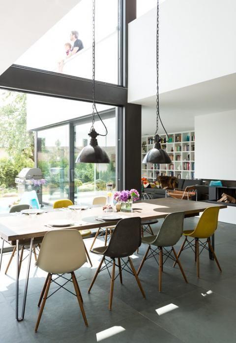 12 besten stahltr ger bilder auf pinterest einrichtung wohnen und architektur. Black Bedroom Furniture Sets. Home Design Ideas