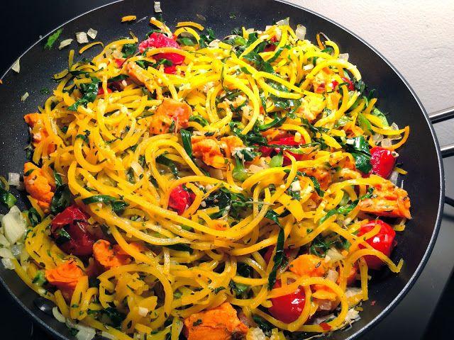 Butternut Squash Spaghetti.. WOA. Get the recipe