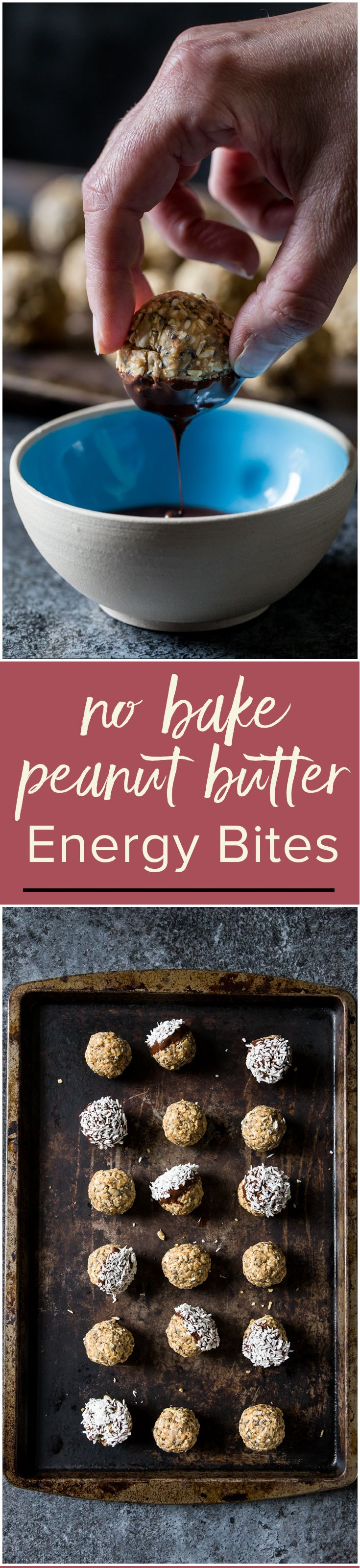 These no bake peanut butter energy bites are the fastest way to effortless snack time. | www.wildeorchard.co.uk