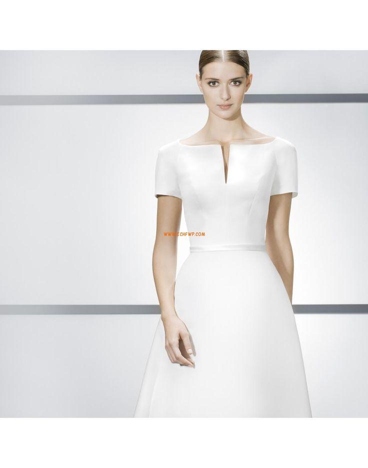 Eglise Traîne mi-longue Elégant & Luxueux Robes de mariée pas cher