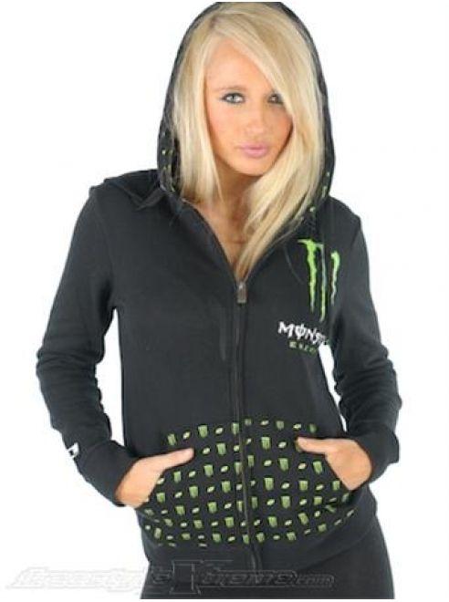 monster energy women's clothing | ... Monster Energy Hoodies For Women df0234 | Buy Monster Energy Clothing