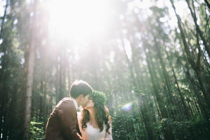 Natali & Igor Belarusian Wedding Day In Fores