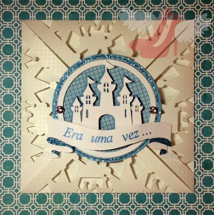 free studio cut file DIY disney card or invitation or card wrap/envelope for your prince/princess