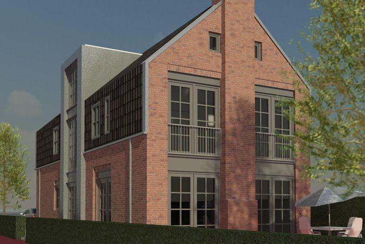 Nieuwbouw pakhuis-woning Oxhoofdpad Langedijk
