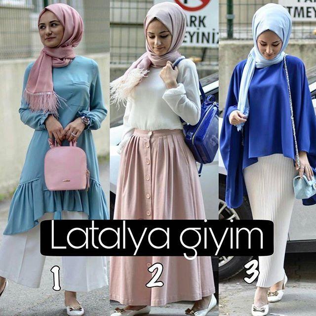 👏👏Sizin favoriniz hangisi? . . #latalya #tesettür #giyim #gömlek #hijabfashion #muslim #kombin #alışveriş #indirim #çekiliş #hijab #muslimwear #style #clothing #instamoda #ramazan #ramazanbayramı #kombin #tesettürkombin