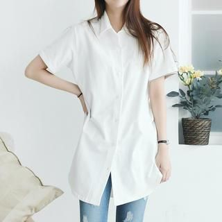 Short-Sleeve Cotton Shirt from #YesStyle <3 Stylementor YesStyle.com
