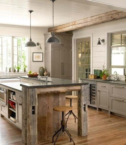 21 Impressive Cool Kitchen Island Design Ideas: 1000+ Ideas About Small Rustic Kitchens On Pinterest