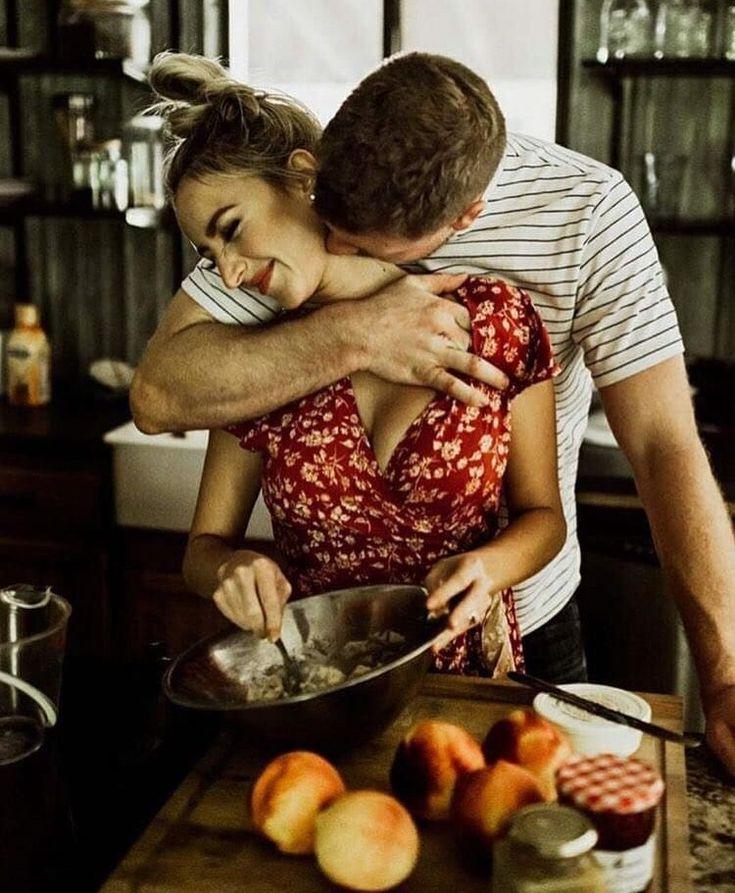 девушка и парень на кухне картинки думать, что