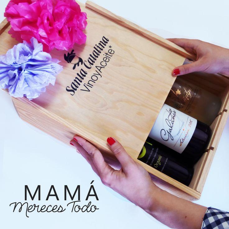 ¡PORQUE MADRE SOLO HAY UNA! #mamá #DíaDeLaMadre #Vino #LosGalanes #SantaCatalina #AceitedeOliva #Madre #AceitedeOlivaVirgenExtra #AceitedeOlivaEcologicoVirgenExtra #AceitedeOlivaEcologico #Viñagal #VinoTintoSelección #domancha #vinotinto #dolamancha #1deMayo #GranSeleccion  #oliveoil #organicoliveoil #wine #redwine #mother #mum #mother'sday #LaSolana #Spain #España #CastillaLaMancha #FelizDíaMama #HappyMothersDay  http://www.santacatalina.es/