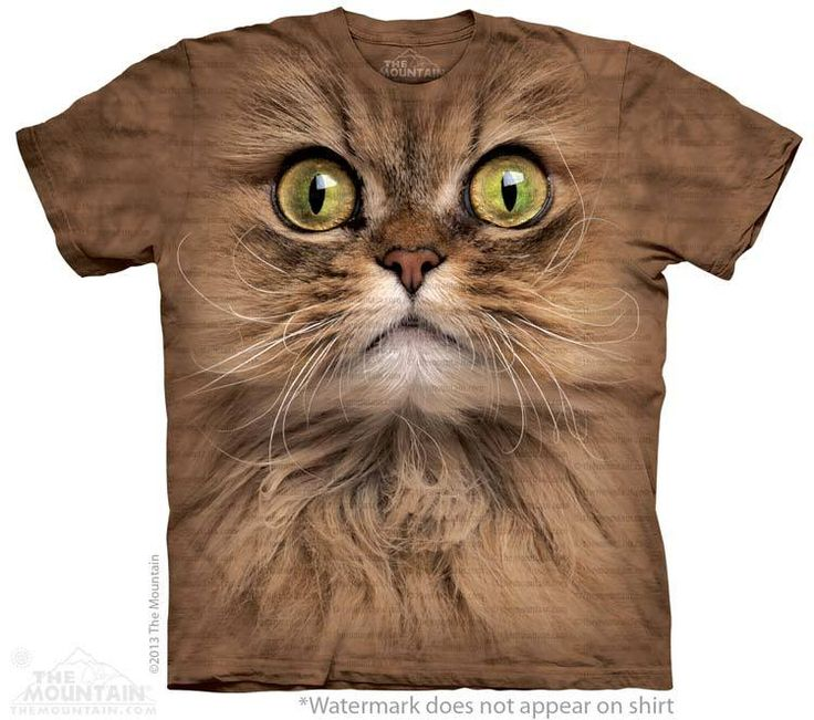 Brown Cat T-Shirt - Click image to see hundreds of different animal t-shirts #themountaintees