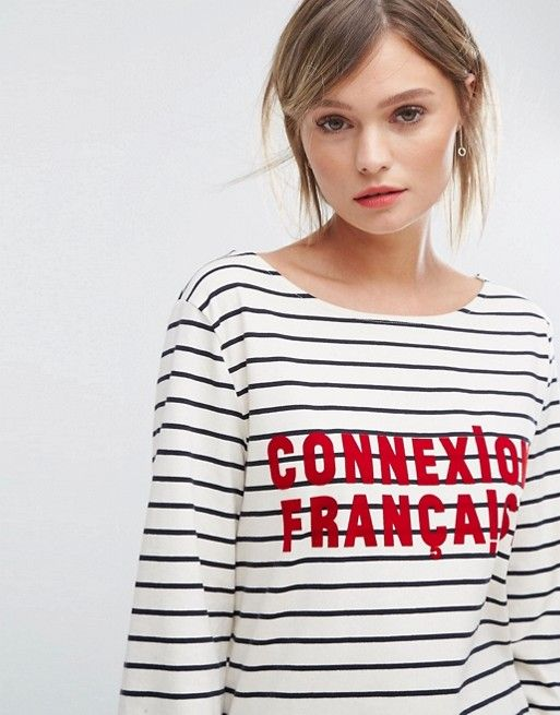 French Connection French Connexion Stripe T-Shirt