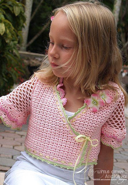 Ravelry: Sunlit Rose Bolero pattern by Alla Koval