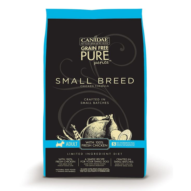 Canidae Grain Free Pure Petite Chicken Small Breed Adult Dog Food - Petco