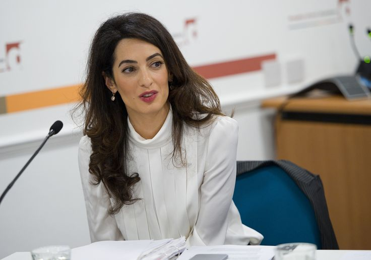Amal Clooney | Amal Clooney launches scholarship for Lebanese girls - LA Times