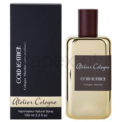 Atelier Cologne Gold Leather perfume unissexo | fapex.pt