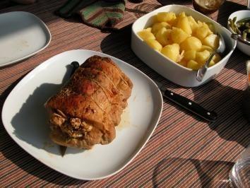 Rezept: Gefüllter Schweinerücken oder Spießbraten Bild Nr. 5