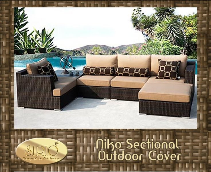 Sirio North America - Niko 6-piece Sectional Cover- This cover won't fit Niko 6pc in Slate, $99.99 (http://www.shopsirio.com/niko-6-piece-sectional-cover-this-cover-wont-fit-niko-6pc-in-slate/)