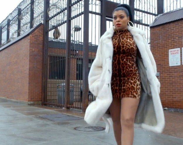 The timeless cheetah print + fur combo: