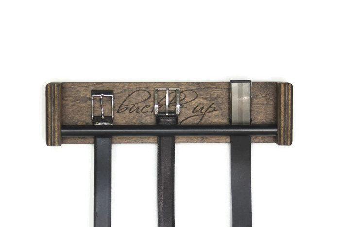 Belt Rack Belt Organizer Belt Hanger Fathers Day Gift Belt Storage