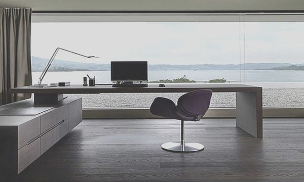 30 Beautiful Home Office Ideas Make Comfortable In 2020 Modern Office Interiors Modern Home Office Desk Home Office Design