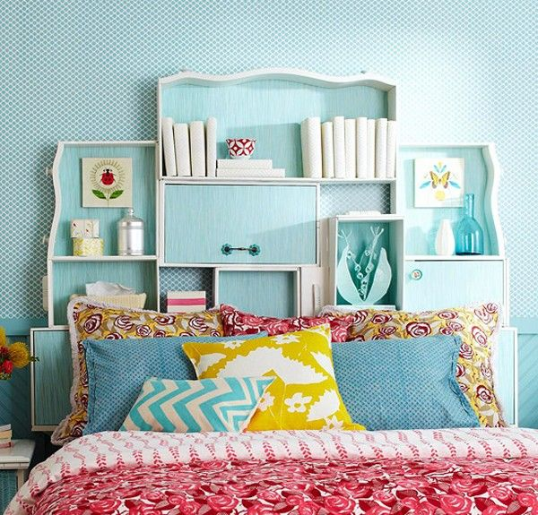 15 DIY Ideas How to Re-purpose Old Drawers, Old drawers headboard
