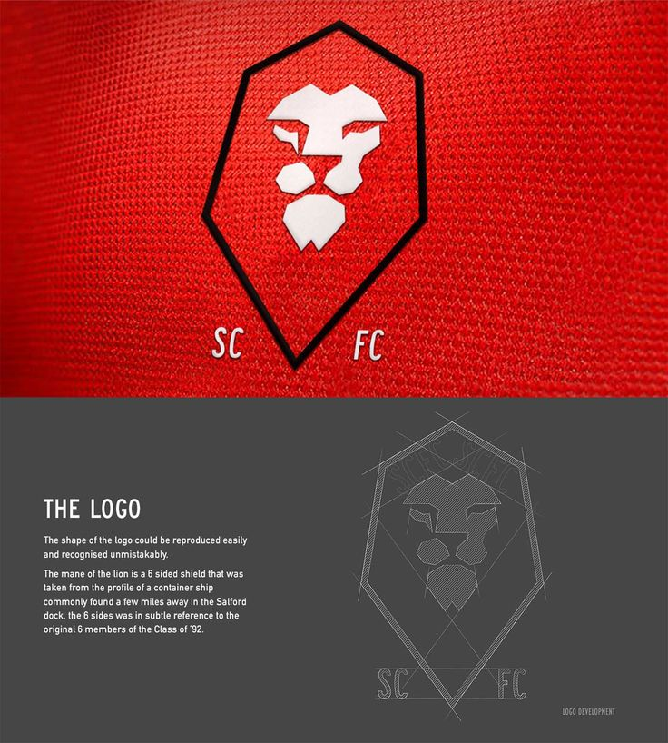 Identity for non-league football club Salford City FC, owned by Gary Neville and the Class of 92. I didn't need much convincing in taking this project on.