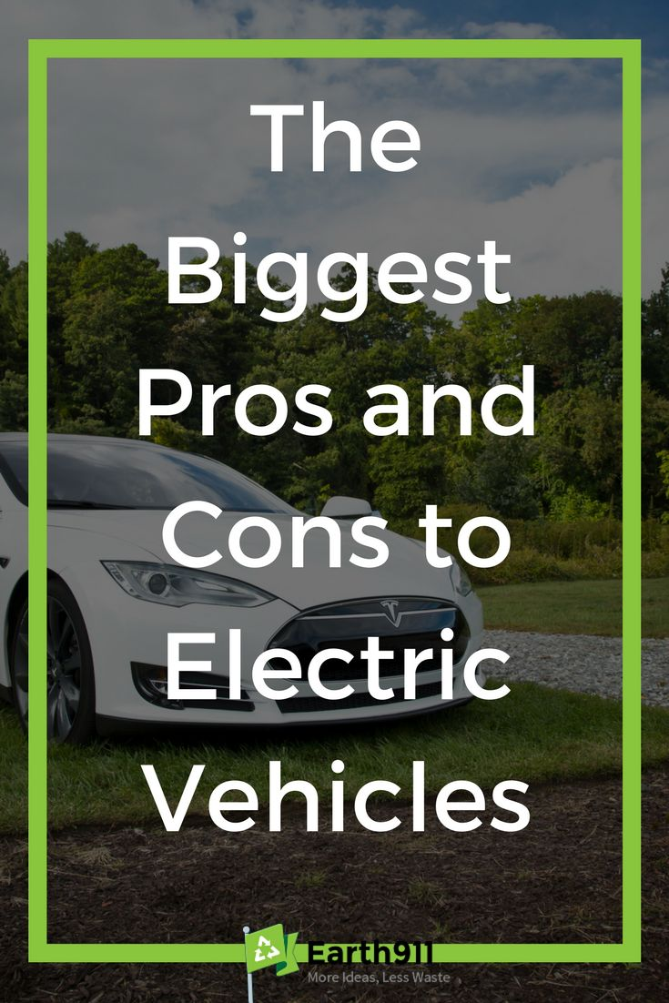 Pick out the perfect electric vehicle for you with these pros and cons to electric vehicles.