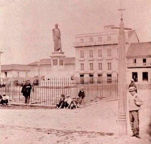1880 Plaza de Bolívar.
