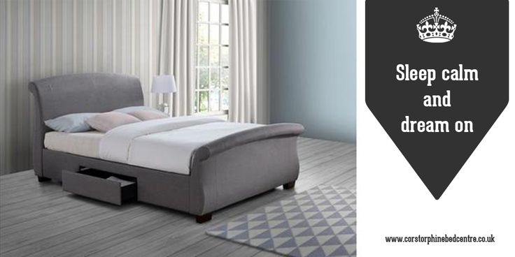 https://www.corstorphinebedcentre.co.uk/ - Corstorphine Bed Centre    A beautiful blend of contemporary style, understated elegance and practicality, the Barcelona also features two handy storage drawers. Headboard height: 1160mm Width: 1450mm Length: 2190mm.  Upholstered in polyester with complementary dark rubberwood feet, the Barcelona is available in either a grey or wheat finish. Free uplift of your old bed, plus free delivery.  The Barcelona double bed frame has a sprung slatted base…