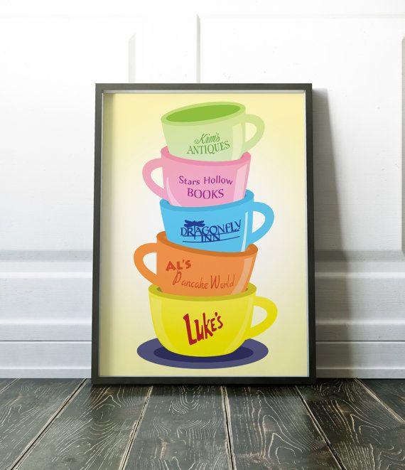 Stars Hollow Mug via 50+ Best Gilmore Girls Gift Ideas http://emmalinebride.com/gifts/50-best-gilmore-girls-gift-ideas/