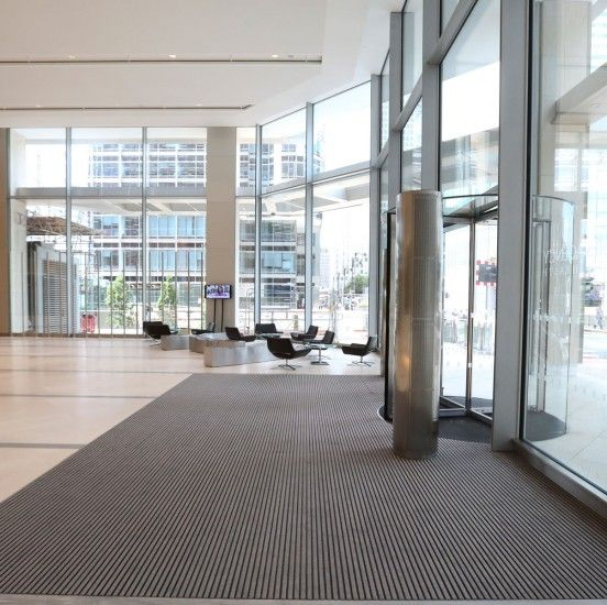 Entrance Matting doesn't have to be boring - this fit out by INTRAsystems…