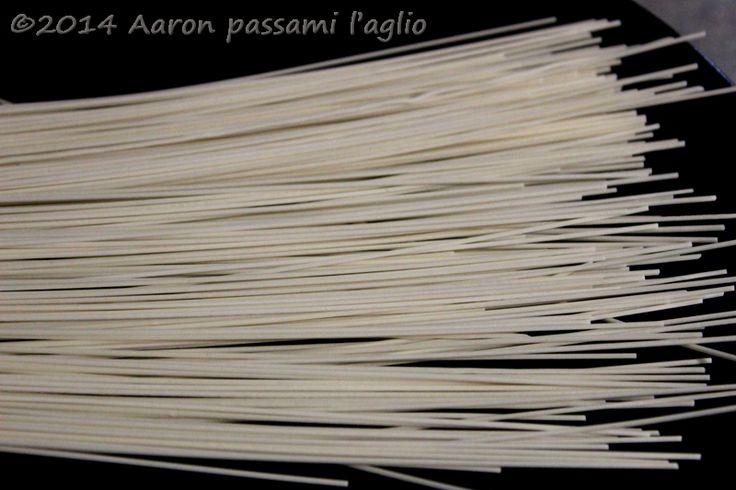 """Aaron passami l'aglio"": NOODLES ALGHE E GAMBERI TERIYAKI"