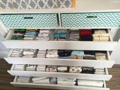Organização enxoval de bebe, organizacao comoda de bebe, organização quarto de bebe, home organizer