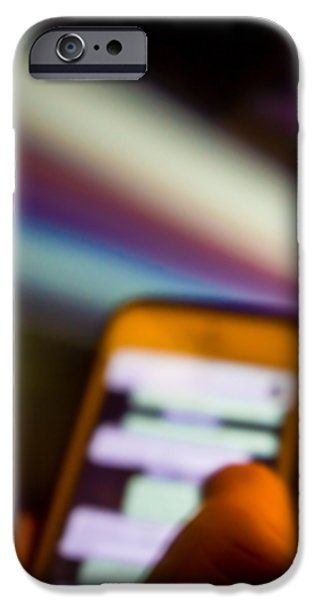 Will Be At Home In 5 Minutes iPhone Case by Cesare Bargiggia