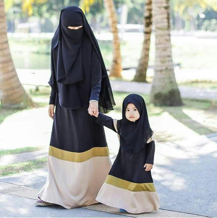 pin by �� on mam n daughter niqab fashion muslim