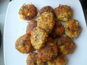 Chiftele de post cu cartofi si ciuperci