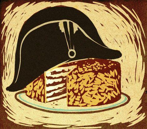Во Франции и Италии этот торт называется Мильфей (1000 слоев), в США — Napoleon, в Великобритании — vanilla slice или cream slice.  Наполеон – это слоeный торт либо пирожное с кремом.  Готовится из с…