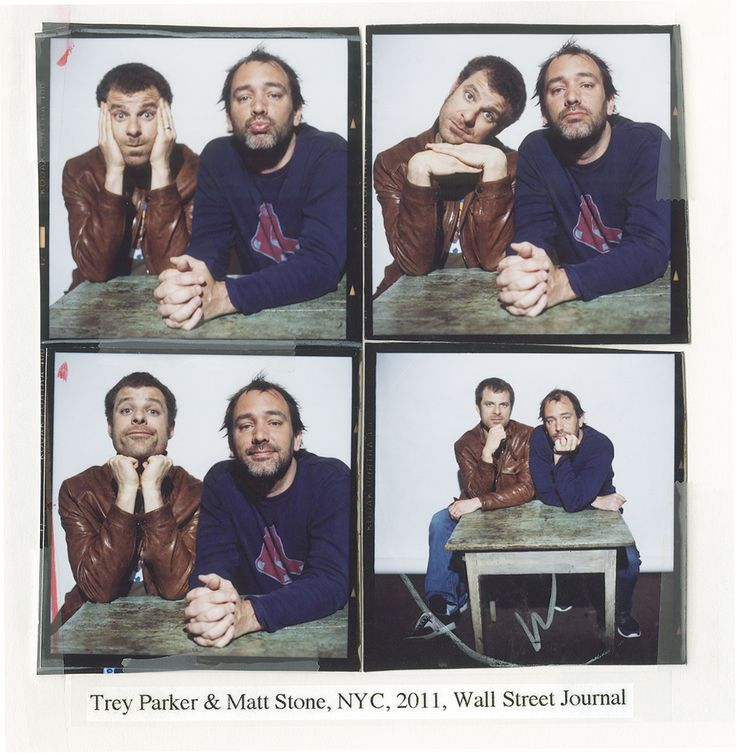 Trey Parker & Matt Stone by Christian Witkin