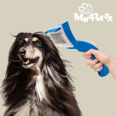 Do you have a dog or cat? Then the incredibleMy Pet Bristles pet hair removal brushwill be very useful for you! With very thin rounded-tip metal bristles and a removable accessory to avoid damaging the skin...
