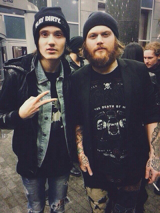 Denis Shaforostov & Danny Worsnop. Two great vocalists that have persevered through hurdles.